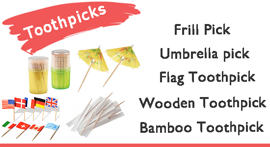 disposable toothpicks